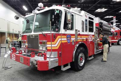 (10) KME's pumper for the Fire Department of New York (FDNY).