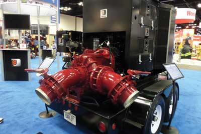 (36) Darley's high-volume self-contained pumping unit.
