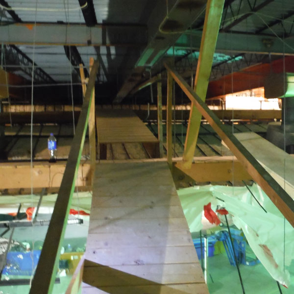 Fall protection that does not adhere to OSHA regulation
