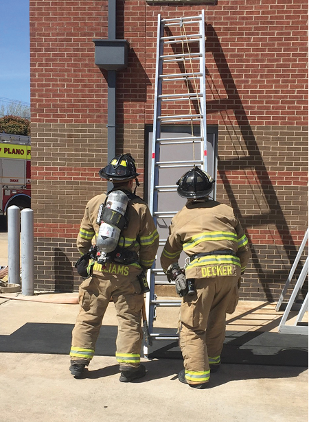 (1) Company-level drills are excellent times to incorporate a communications component as part of the overall training. This is often overlooked, but it's a great opportunity to practice and improve our communications. (Photos by author.)