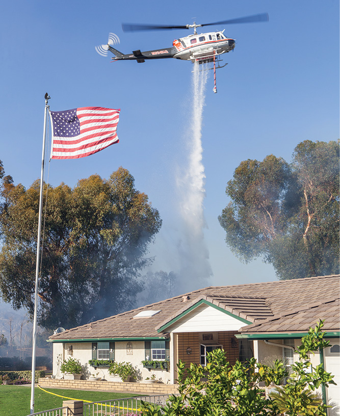 Rotor-wing aircraft are the most versatile used in wildland incident management.