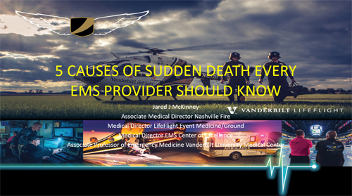 The Five Common Causes of Sudden Death Every EMS Provider Should Know