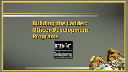 Building the Ladder: Officer Development Programs