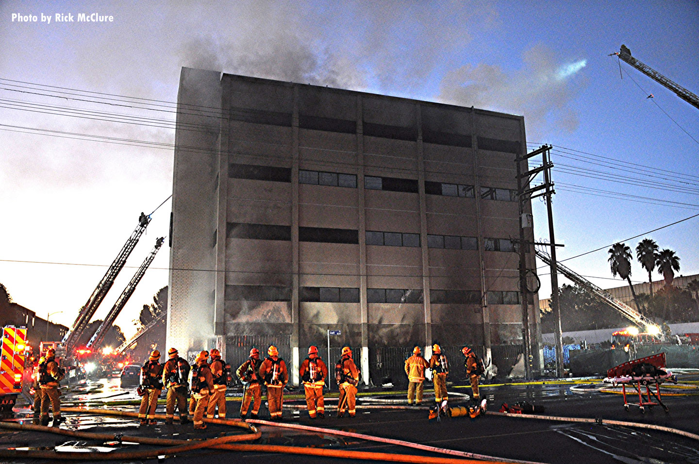 The building was deemed structurally unsound.