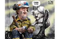 Salute to Australian WIldland Firefighters