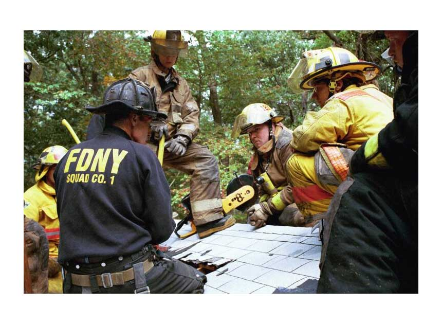 Chief Don Hayde from FDNY discusses roof operations