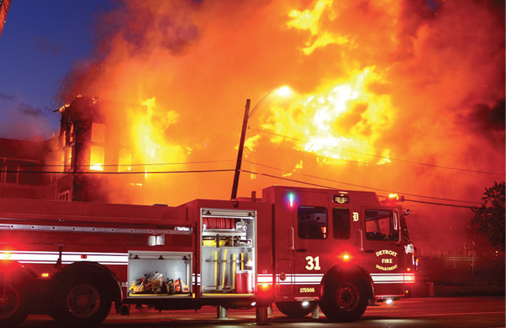 Heroism in Detroit: Fire at a Senior Living Facility