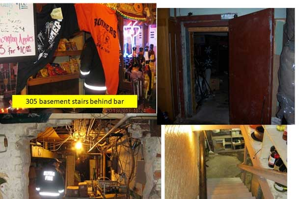 Access issues in a building's basement
