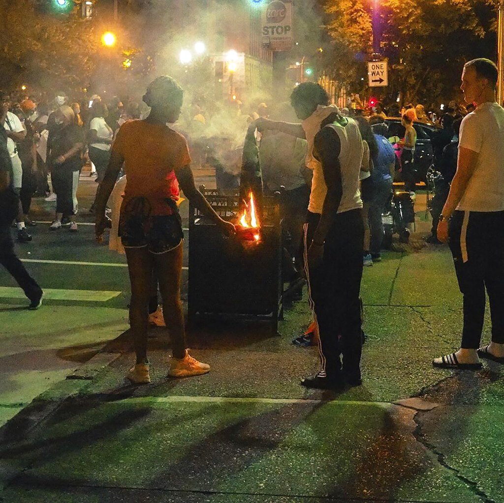 Louisville shooting at protest
