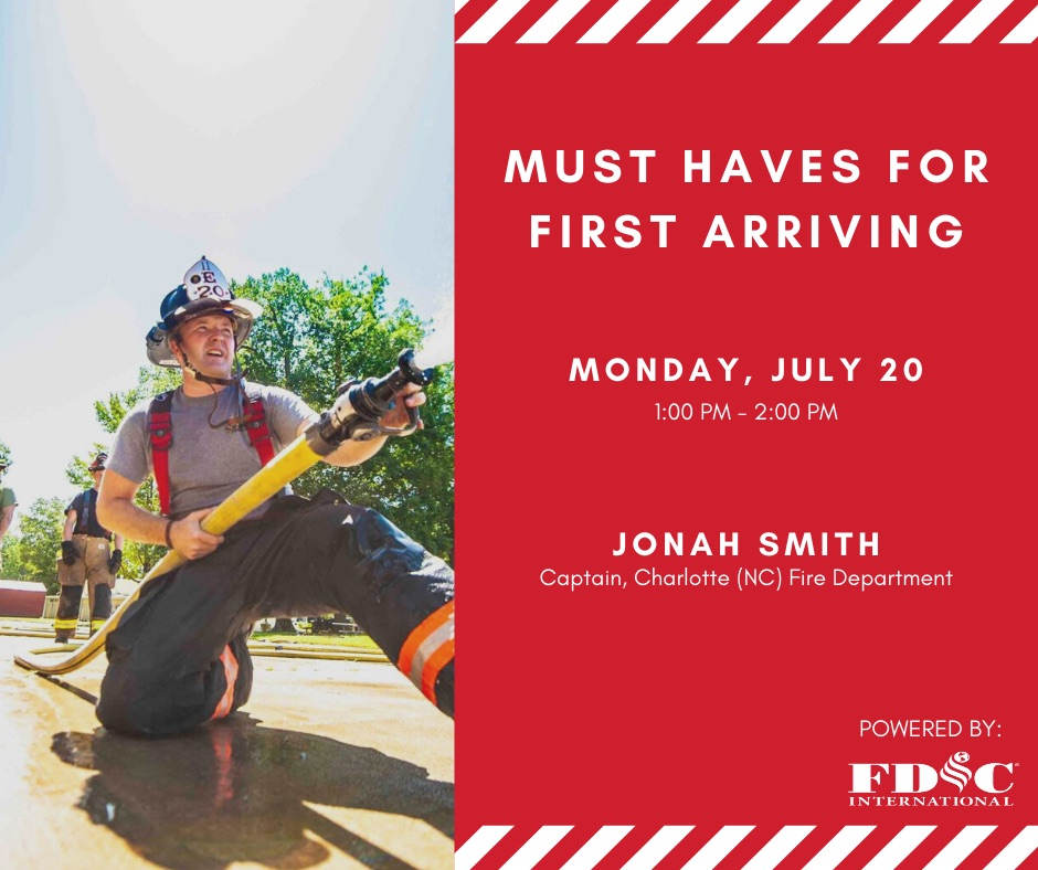 Jonah Smith, Must Haves for First Arriving