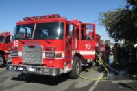 City of San Diego fire apparatus