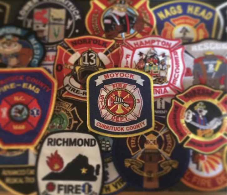 This image illustrates where our members have come from and where they are going. I also realized I had too many patches and they wouldn't all fit in the frame, which shows the impact our recruitment efforts have made on not just our department but those larger departments around us.