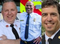Recent fire service promotions