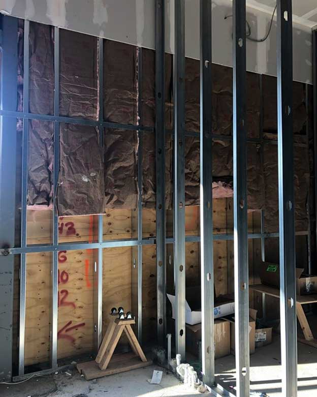 Replacement of load-bearing walls