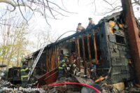 Firefighters faced extreme hoarding conditions during this recent fire