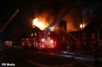 Fire in Greater Zion Fellowship Community Church