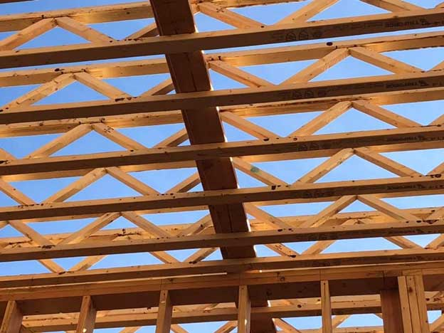 Finger joint wood trusses are an engineered wood product designed for residential/ light commercial application.