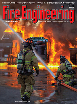 November 2020 issue of Fire Engineering