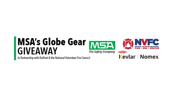 Volunteer Fire Departments in PA and TN Announced as Latest Recipients in MSA's and DuPont's 2021 Globe Gear Giveaway