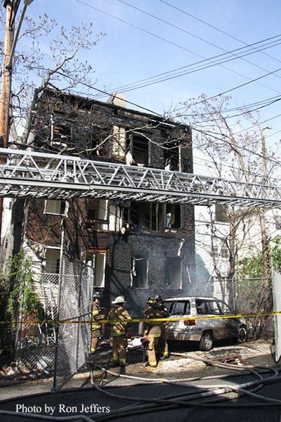 Three Jersey City Firefighters Suffer Electrical Shocks