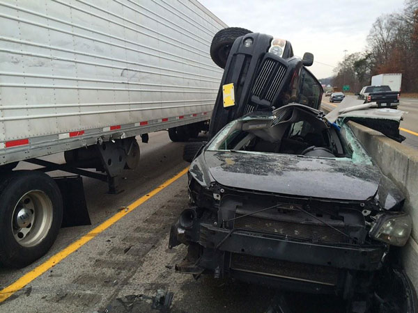Responders Contend with Knox County (TN) Multi-Vehicle Accident