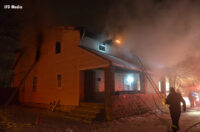 Structural Firefighting: Boy Alerts Family to Indianapolis Fire