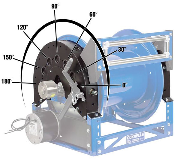 Fire Rescue Equipment: COXREELS INTRODUCES UNIVERSAL BRACKET WITH VARIOUS PAYoUT ANGLES FOR 1600 SERIES